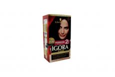 Tinte Igora Vital 1-9 Negro Vino Caja Con 1 Kit Con 2 Tubos