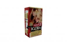Tinte Igora Vital 10-2 Rubio Platino Caja Con 1 Kit Con 2 Tubos