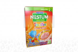 Nestum Cereal Infantil Trocitos Frutas Mixtas Caja Con Bolsa Con 200 g