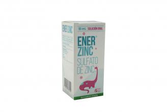Enerzinc Solución Oral Caja Con Frasco Con 90 mL
