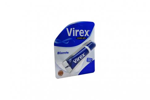 Virex Cover Lips Caja Con Tubo Con 10 g