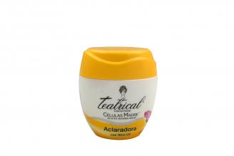 Crema Facial Teatrical Ultra Aclaradora Células Madre Pote Con 100 g