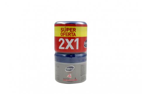 Desodorante Balance Men Dry Crema Empaque Con 2 Frascos Con 100 g C/U