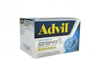 Advil Gripa Multisíntomas Caja Con 72 Cápsulas Líquidas