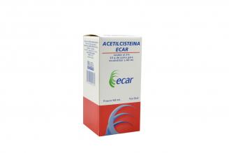 Acetilcisteina 2%/ 25 g Polvo Para Reconstituir Caja Con Frasco Con 60 mL
