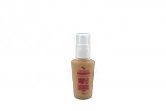 Base De Maquillaje Vogue Efecto Total 6 Trigo Frasco Con 30 g