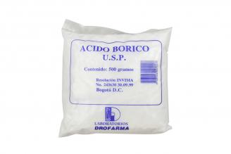 Ácido Bórico Bolsa Con 500 g – Antiséptico