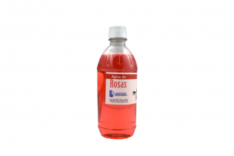 Agua De Rosas Frasco De Plástico Con 450 mL