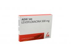 Adix 500 mg Caja Con 10 Tabletas Recubiertas Rx