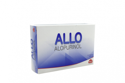 Allo 300 mg Caja Con 30 Tabletas Rx