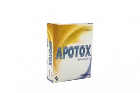 Apotox 150 mg Caja Con 20 Cápsulas Rx