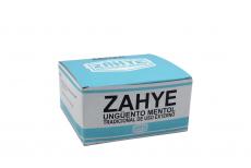 Ungüento Mentol Zahye Caja Con Tarro Con 12 Latas Con 12 g C/U