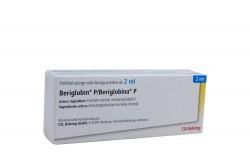 Beriglobina P Caja Con 1 Jeringa Prellenada De 2 mL Rx3