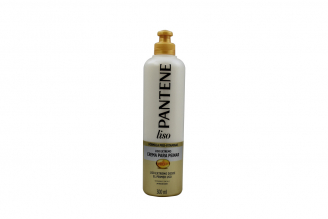 Crema Para Peinar Pantene Pro-V Liso Extremo Frasco Con 300 mL