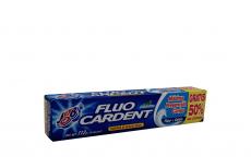Crema Dental Fluo Cardent Caja Con Tubo Con 75 mL