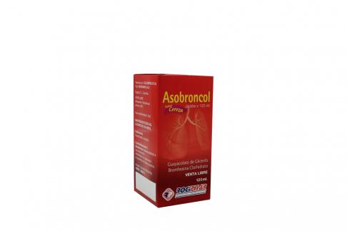 Asobroncol Jarabe Caja Con Frasco Con 120 mL Rx