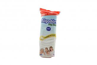 Algodon Zig Zag Mk Bolsa Con 100 g