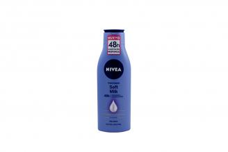 Nivea Crema Soft Body Milk Frasco Con 250 mL