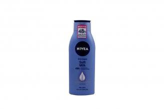 Nivea Crema Corporal Soft Millk Frasco Con 400 mL -  Piel Irresistiblemente Suave