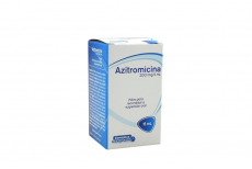 AZITROMICINA 200 MG / 5 ML  SUSPENSIÓN FRASCO X15 ML Rx