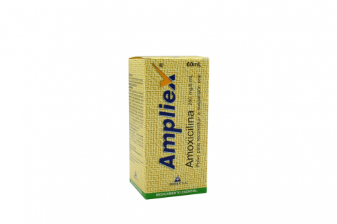 Ampliex 250 Mg / 5 mL Caja Con Frasco Con 60 mL Polvo Rx2