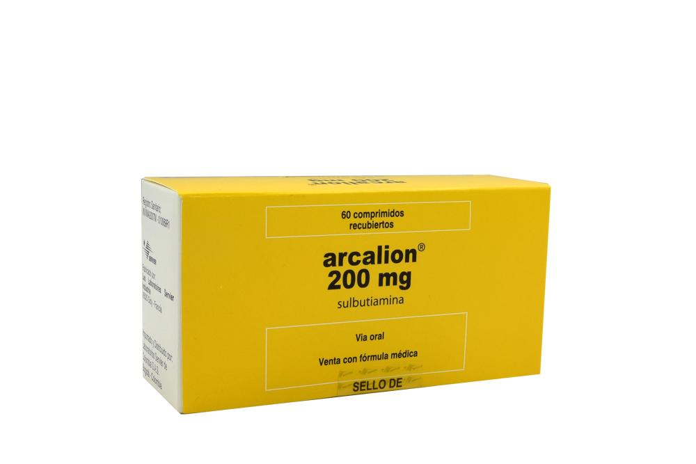 Arcalion 200 mg Caja Con 60 Comprimidos Recubiertos Rx4