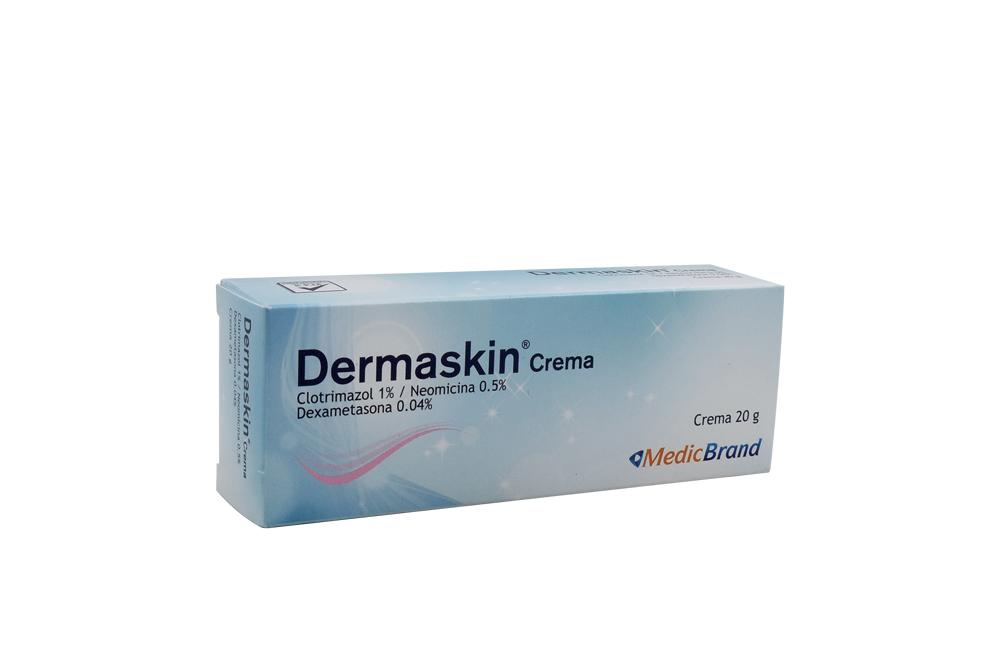 Dermaskin Crema 1 / 0.5 / 0.04 % Caja Con Tubo Con 20 g Rx2