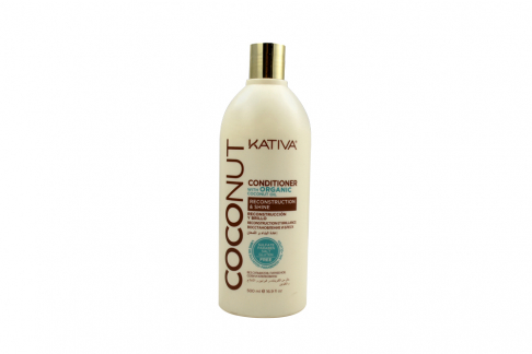 Acondicionador Kativa Coconut Organic Oil Frasco Con 500 mL