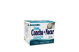Crema Concha De Nacar Q10 Caja Con Frasco Con 60 g