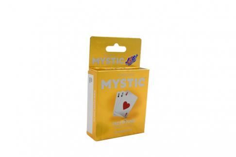 Preservativos Mystic Triple Placer Caja Con 3 Unidades