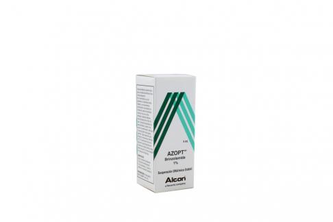 Azopt  Solución Oftálmica Estéril 1 % Caja Con Frasco Gotero Con 5 mL Rx4