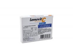 Lemovit C Zinc Plus Caja Con 10 Tabletas Recubiertas