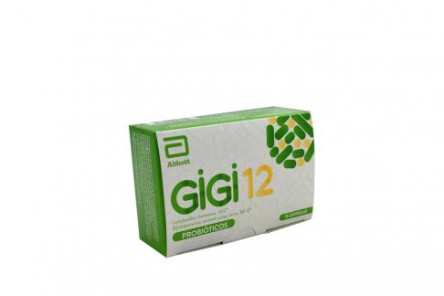 Gigi12 Probióticos Caja Con 15 Cápsulas