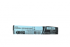 Catéter Intravenoso AlfaSafe 22 G Empaque Con 1 Unidad