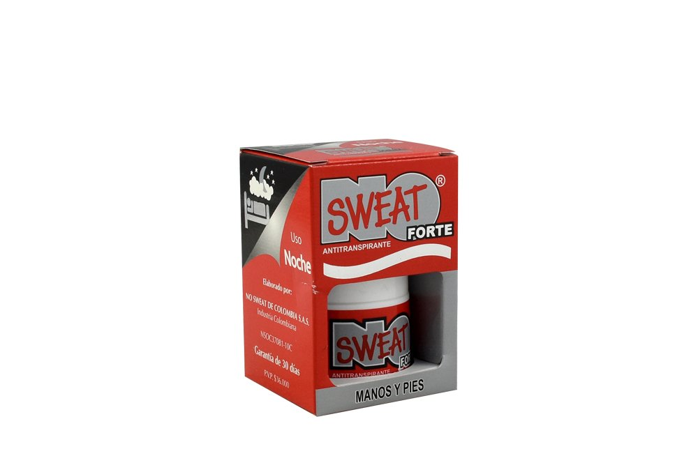 Desodorante Roll On No Sweat Forte En Caja Con Frasco Por 30 mL