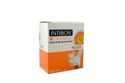 Jabón Íntimo Intibon Caléndula Caja Con 12 Sobres Con 14 g C/U