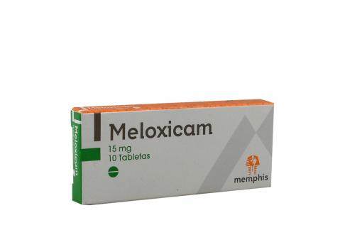 Meloxican 15 mg Caja Con 10 Tabletas Rx