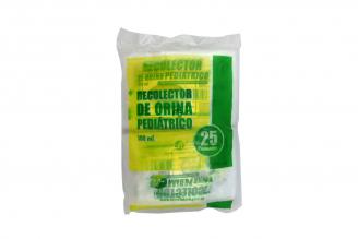 Bolsa Para Recolección De Orina Pediátrica Empaque Con 25 Unidades