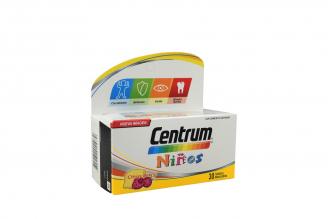 Centrum Niños Caja Con Frasco Con 30 Tabletas - Sabor Citrus Berry
