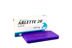 Arlette 28 0.075 mg Caja Con 28 Tabletas Rx