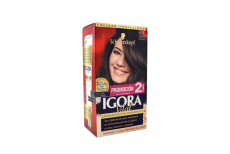 Tinte Igora Vital 4-0 Castaño Mediano Caja Con 1 Kit Con 2 Tubos