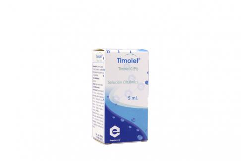 Timolet 0.05 % Caja Con Frasco Con 5 mL Rx