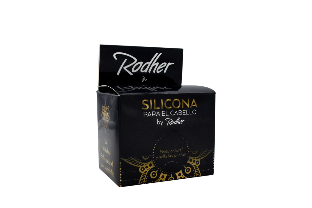 Silicona Liquida Sachet Rodher 24 Unidades