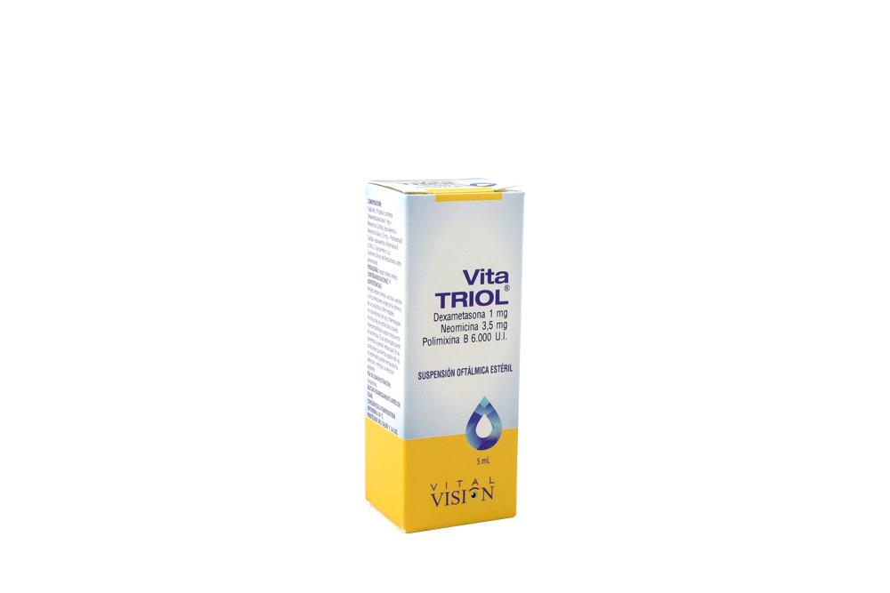 Vitatriol Suspensión Caja Con Frasco Con 5 mL RX