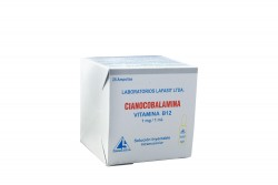 VITAMINA B 12 INYECTABLE X 1 ML - CAJA X 25 AMPOLLAS