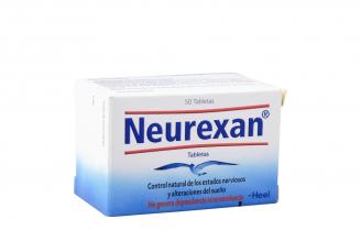 Neurexan Caja Con Frasco Con 50 Tabletas