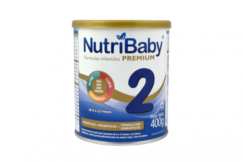 Nutribaby 2 De 6 a 12 Meses Lata con 400 g
