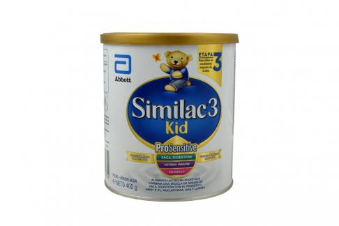 Similac 3 Kid Tarro Con 400 g
