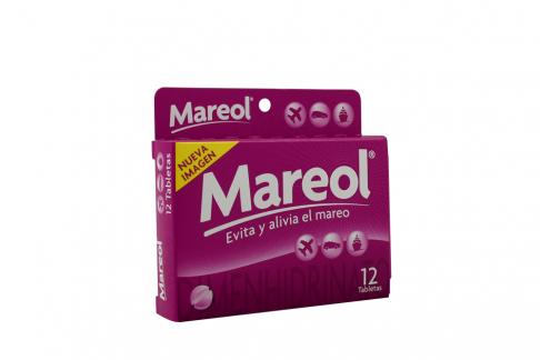 Mareol 50 mg Caja Con 12 Tabletas