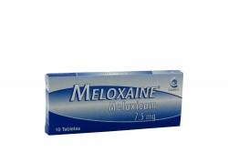 Meloxaine 7.5 mg Caja Con 10 Tabletas Rx